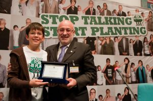 Felix Finkbeiner, Presidente 'Plant for the Planet'