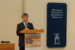Ren Wang, Assistente Direttore Generale della FAO